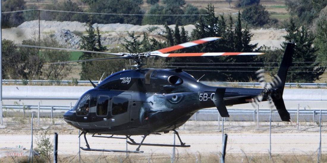 Αεροδιακομιδή Έλληνα ναυτικού από πλοίο στο Νοσοκομείο της Ρόδου