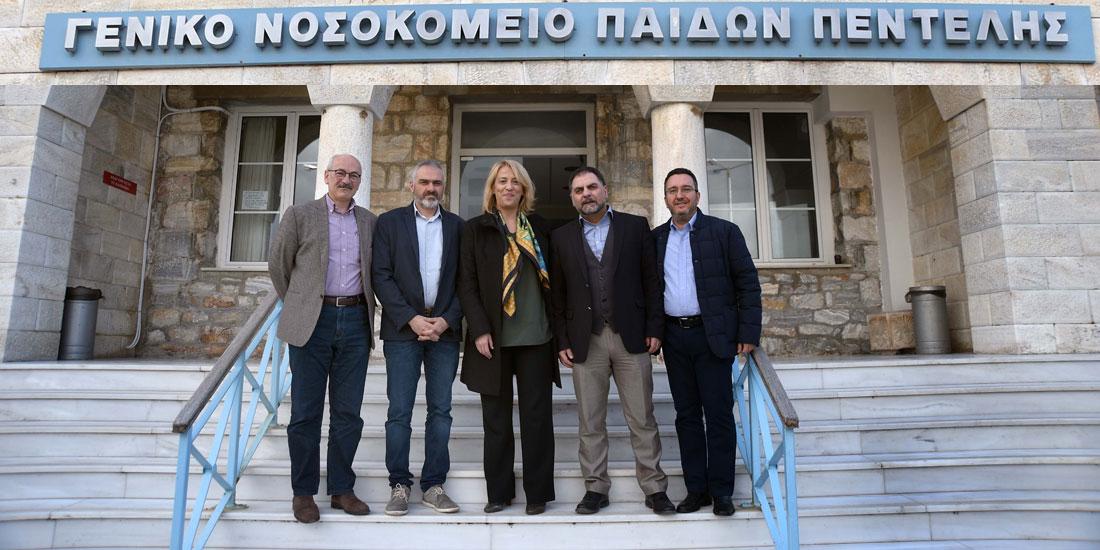 Αναβάθμιση των χειρουργείων του Παίδων Πεντέλης με τη στήριξη της Περιφέρειας Αττικής