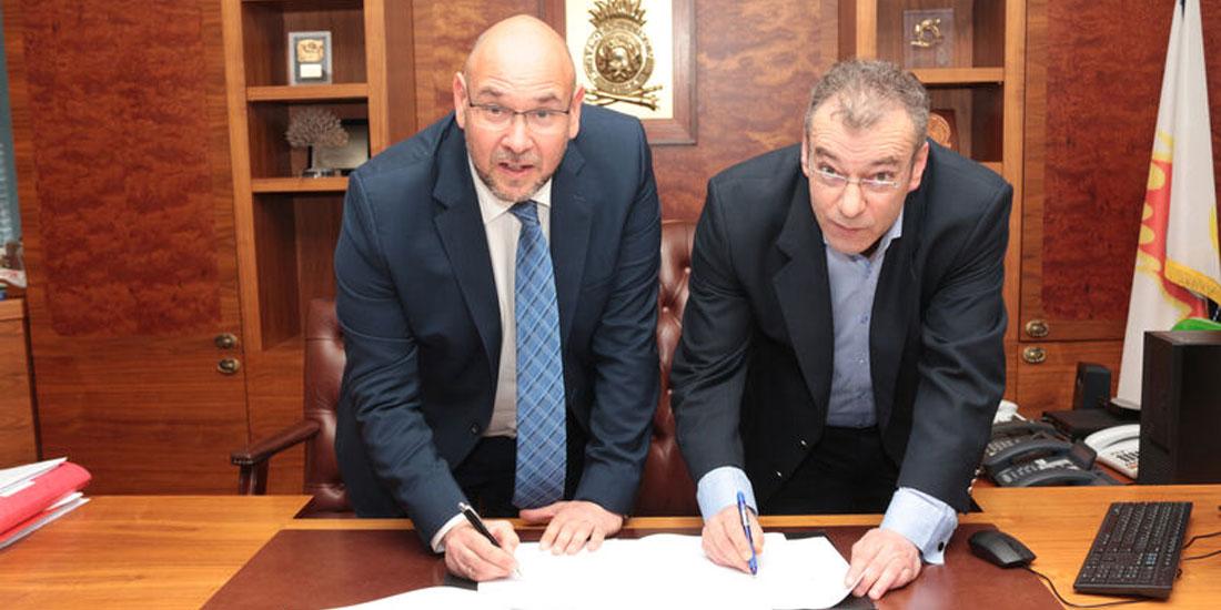 Υπογραφή πρωτοκόλλου συνεργασίας μεταξύ ΕΚΕΠΥ και Πυροσβεστικού Σώματος