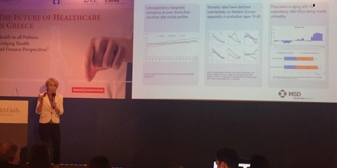 Agata Jakoncic - MSD: «Το clawback και η βεβιασμένη εφαρμογή μεταρρυθμίσεων θέτουν σε κίνδυνο τη βιωσιμότητα του συστήματος Υγείας»