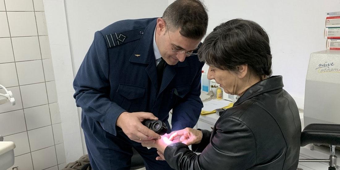Στη Σκύρο κλιμάκιο υγειονομικού προσωπικού του 251 ΓΝΑ για την παροχή υπηρεσιών  ιατρικής φροντίδας