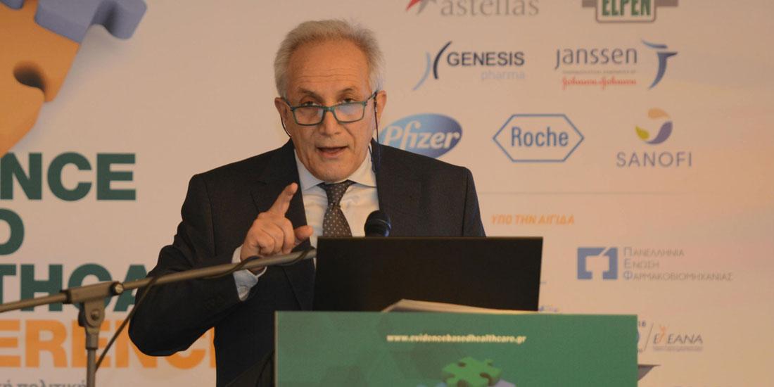 2nd EBHC 2019-Βαλτάς: Το φάρμακο είναι κοινωνικό αγαθό και όχι εμπορικό προϊόν