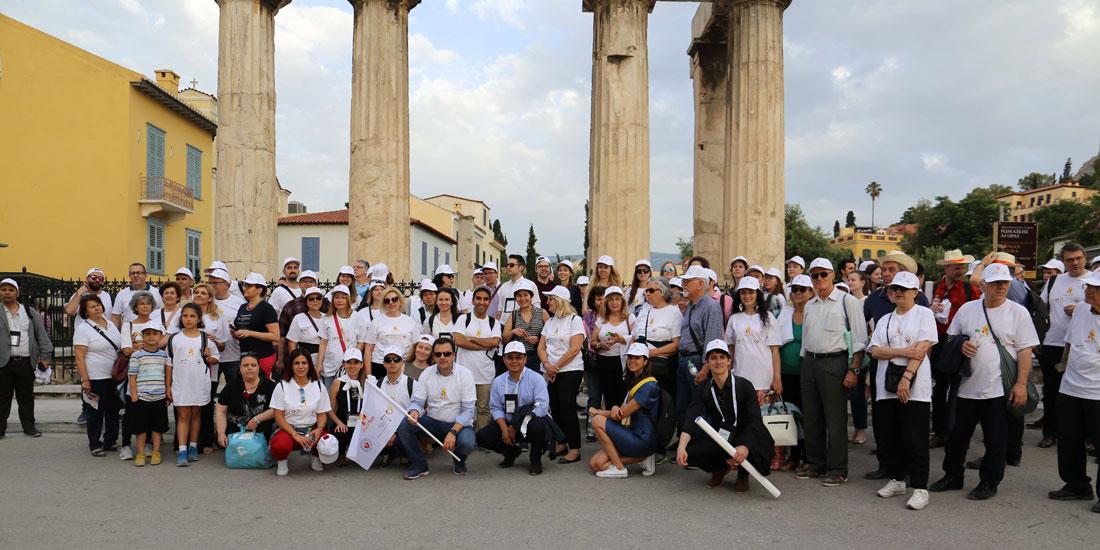 HoT Walk 2019: Μεγάλη η συμμετοχή του κόσμου σε Αθήνα και Θεσσαλονίκη