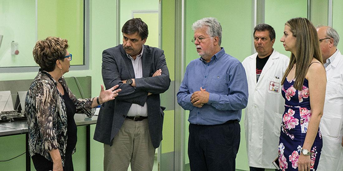 Εγκαινιάστηκε η Αίθουσα Κεντρικής Επεξεργασίας Αίματος στις εγκαταστάσεις του Ε.ΚΕ.Α.