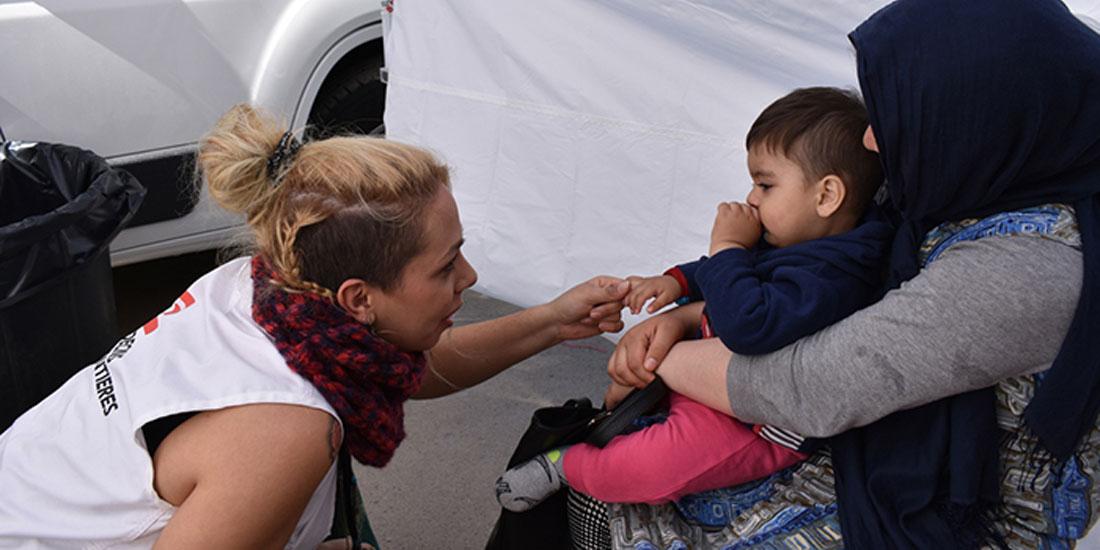 Γιατροί Χωρίς Σύνορα: Επείγουσα ψυχολογική υποστήριξη στα παιδιά-μάρτυρες του τραγικού περιστατικού στη Μόρια