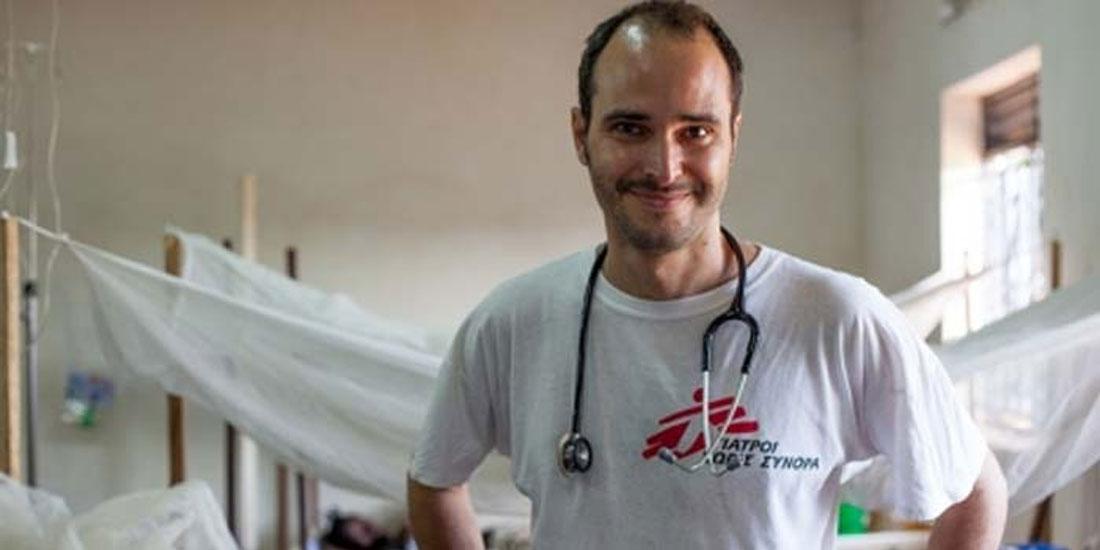 Ο χειρουργός Χρήστος Χρήστου αναλαμβάνει διεθνής πρόεδρος των «Γιατρών Χωρίς Σύνορα»