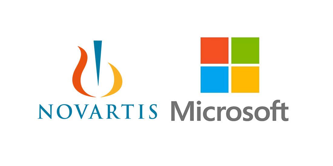 Συνεργασία Novartis και Microsoft για τη μεταμόρφωση φαρμάκων χάρη στην τεχνητή νοημοσύνη