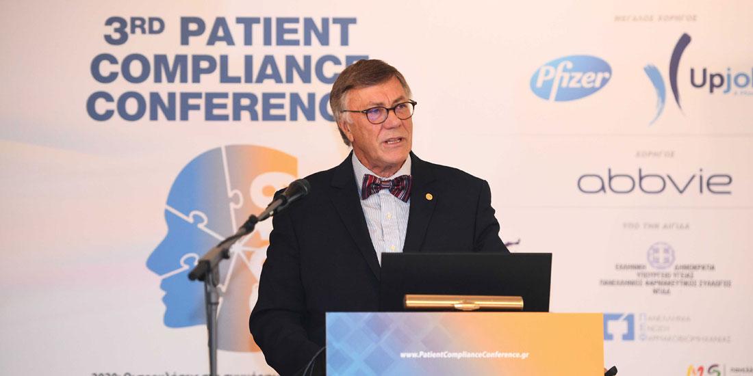 3rd Patient Compliance Conference 2019: Τα αποκαλυπτικά συμπεράσματα που καταδεικνύουν τα προβλήματα στη συμμόρφωση.