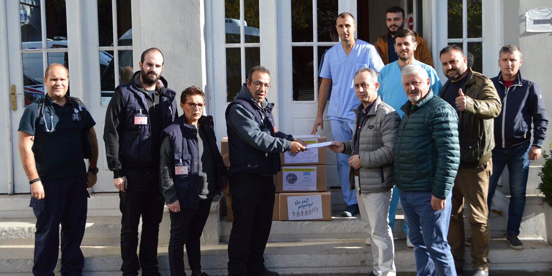 ΙΣΑ: Ανθρωπιστική αποστολή στο Πανεπιστημιακό Νοσοκομείο Τιράνων