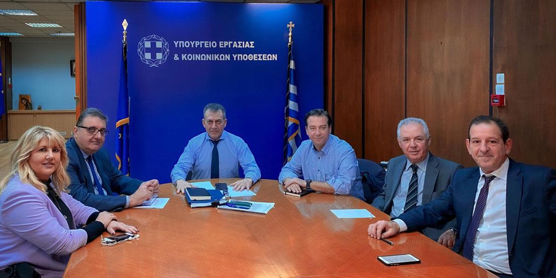 Συνάντηση Προεδρείου ΠΙΣ με τον υπουργό Εργασίας για τις αλλαγές στο ασφαλιστικό σύστημα