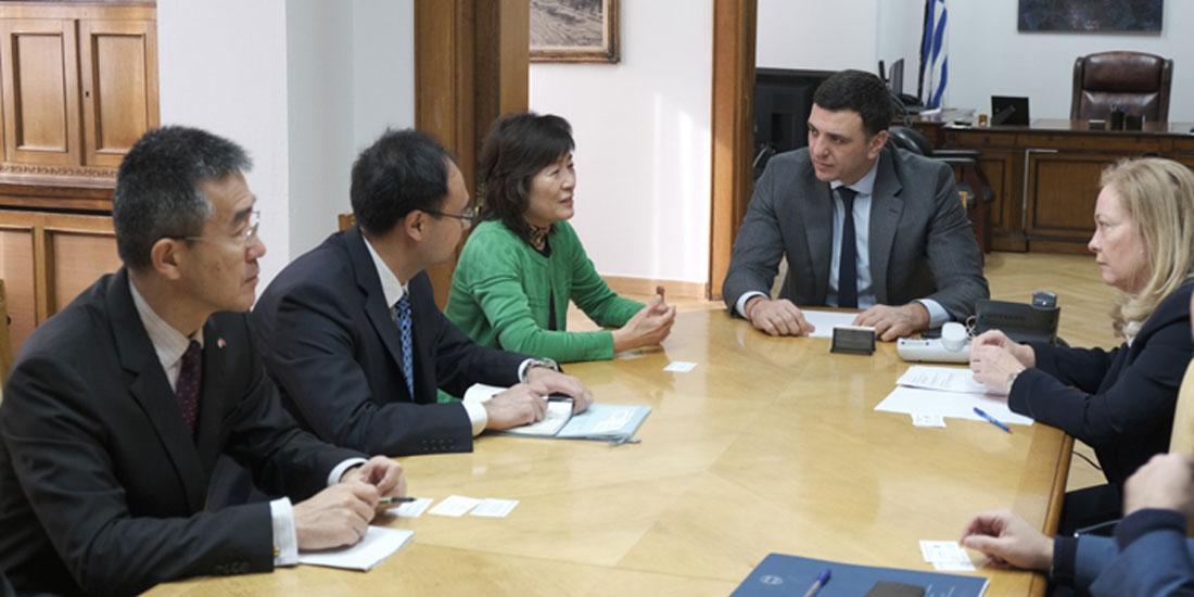Υπουργείο Υγείας: Με την Πρέσβη της Λαϊκής Δημοκρατίας της Κίνας συναντάται σήμερα ο Βασίλης Κικίλιας