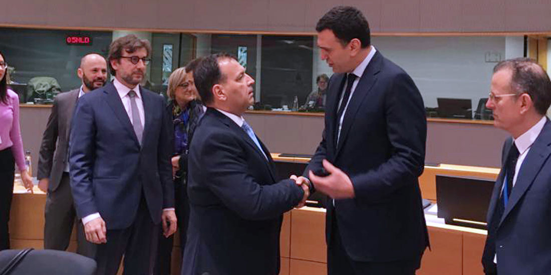 Ψηφιακό συγχρονισμό των κρατών-μελών της ΕΕ για την καλύτερη αντιμετώπιση του νέου κοροναϊού, πρότεινε ο Β.Κικίλιας