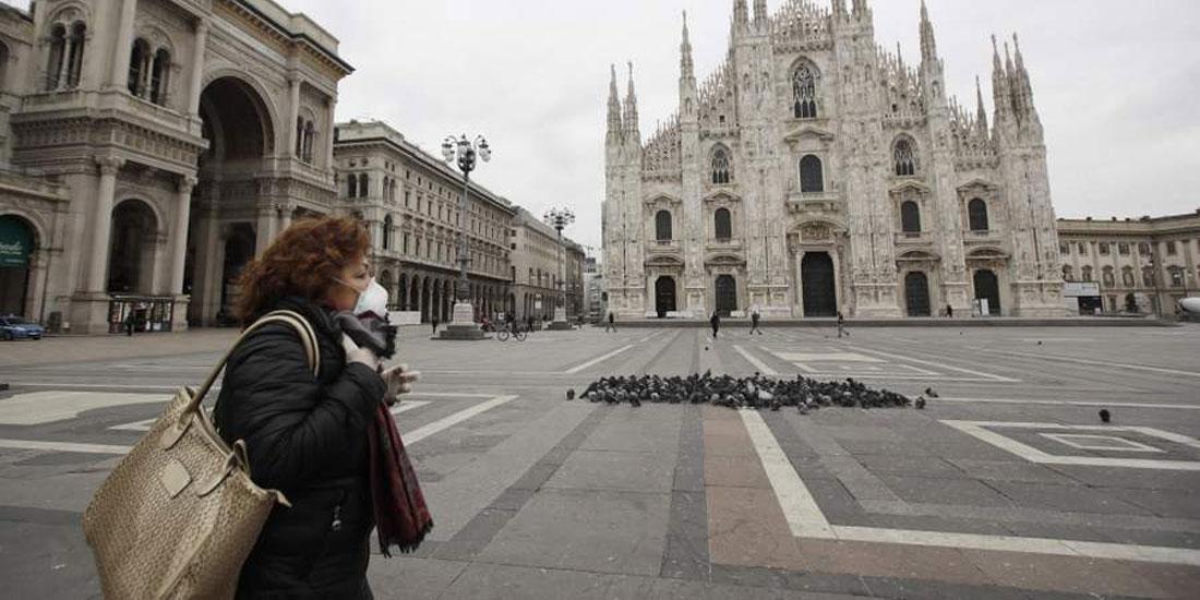 Ιταλία-Covid-19: 349 νέοι θάνατοι το τελευταίο 24ωρο!