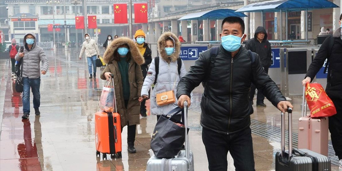Κανένα κρούσμα εγχώριας μετάδοσης στην Κίνα, όμως 34 εισήχθησαν από το εξωτερικό