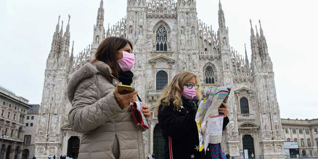 Ιταλία: Περιορίζεται ελαφρά η αύξηση κρουσμάτων και θανάτων στη χώρα