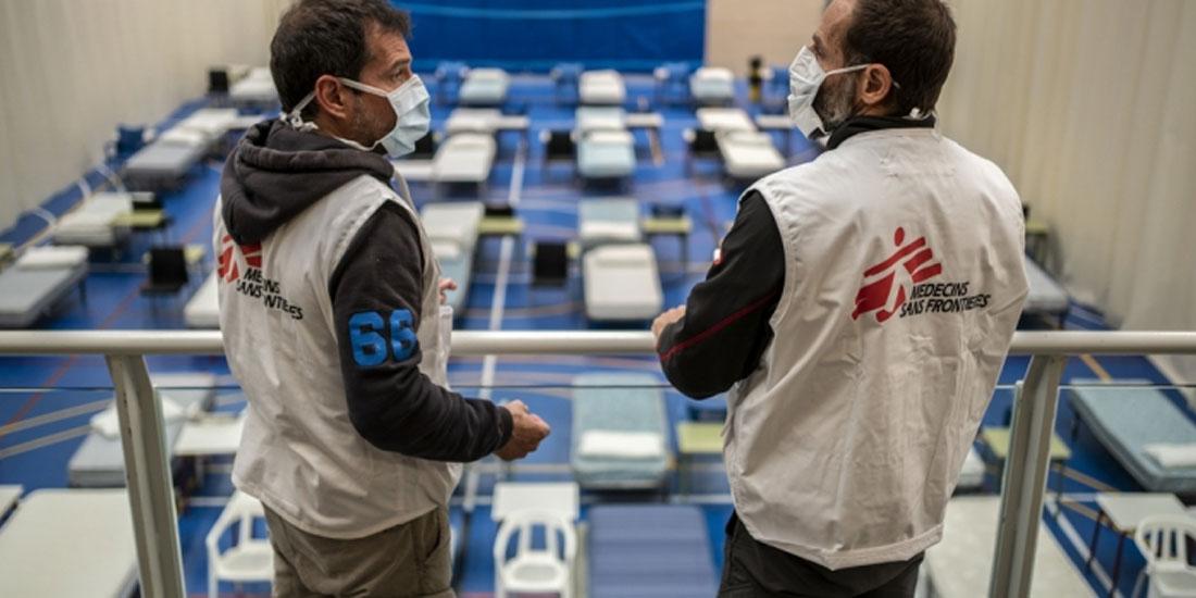 Οι Γιατροί Χωρίς Σύνορα στην Ισπανία: Κλιμακώνουν την παρέμβασή τους για την αντιμετώπιση της επιδημίας COVID-19