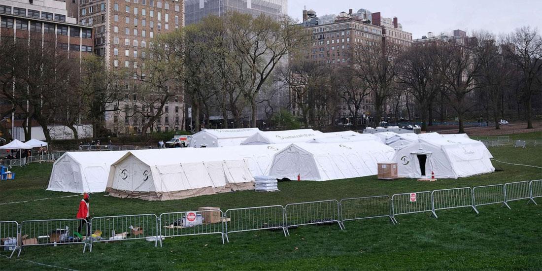 Video: Η Νέα Υόρκη ετοιμάζεται για πόλεμο...