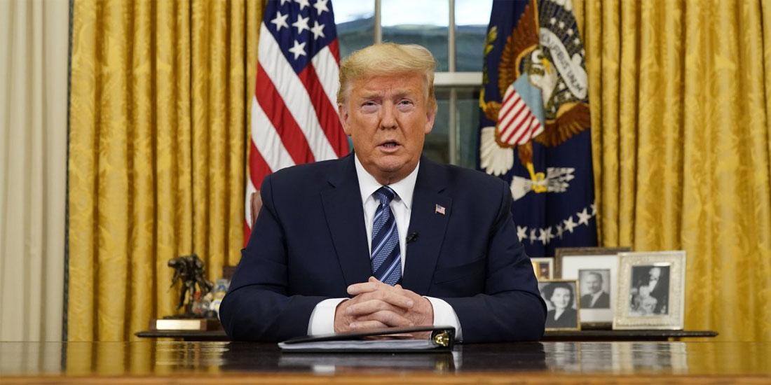 Ο πρόεδρος Ντόναλντ Τραμπ αρνητικός στην COVID-19 για δεύτερη φορά