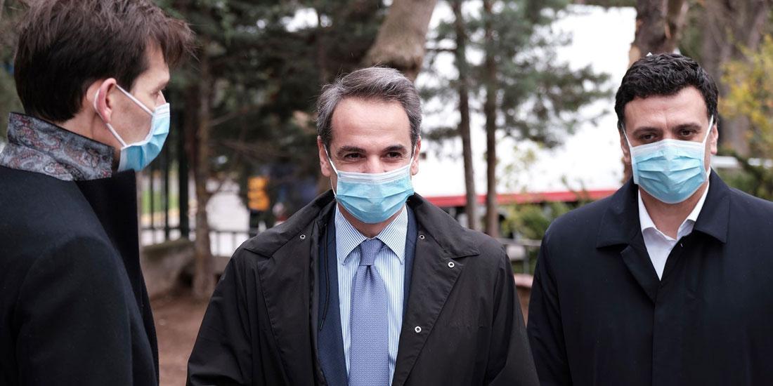 Επίσκεψη του Πρωθυπουργού στο Νοσοκομείο Σωτηρία