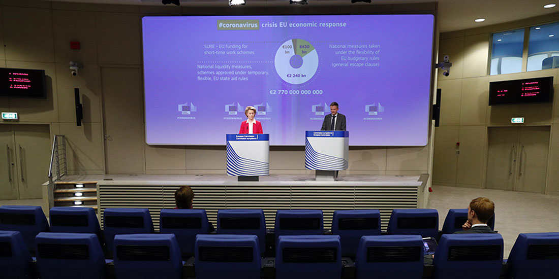 Covid-19 - ΕΕ: «Ο επόμενος ευρωπαϊκός προϋπολογισμός θα πρέπει να είναι η απάντηση της Ευρώπης στην κρίση του κορωνοϊού»
