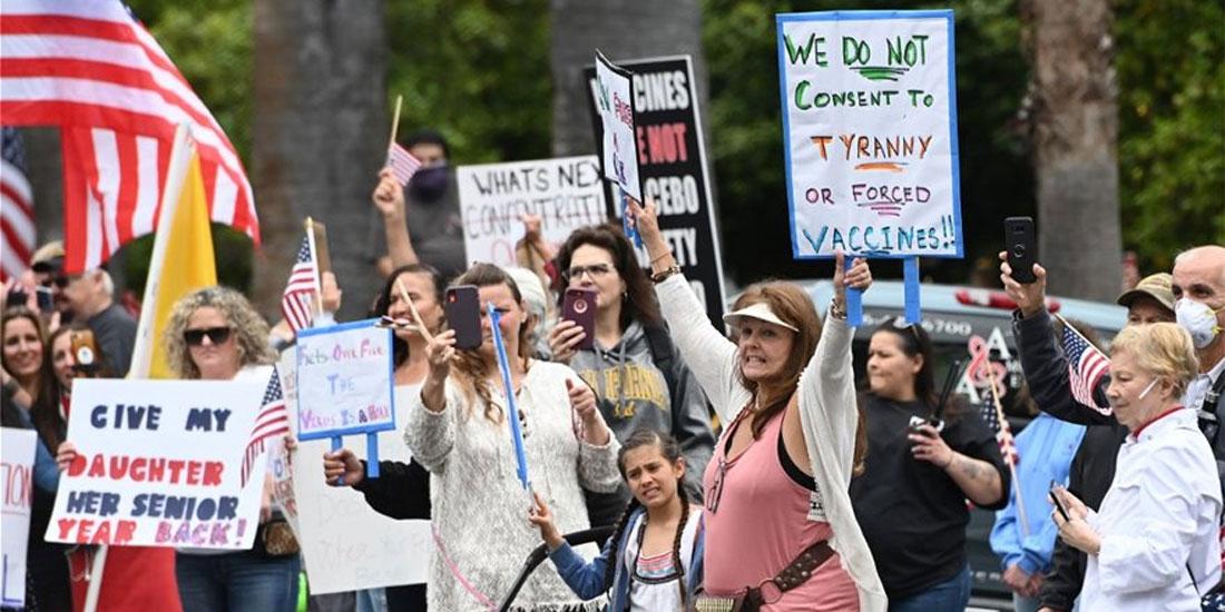 ΗΠΑ: Καταστροφή εάν χαλαρώσουν τα μέτρα!