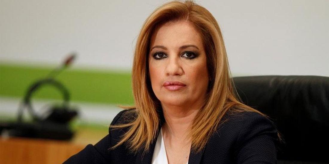 Φ. Γεννηματά: «Η κυβέρνηση πρέπει να εξασφαλίσει τις προϋποθέσεις που θα μας κρατήσουν ασφαλείς»