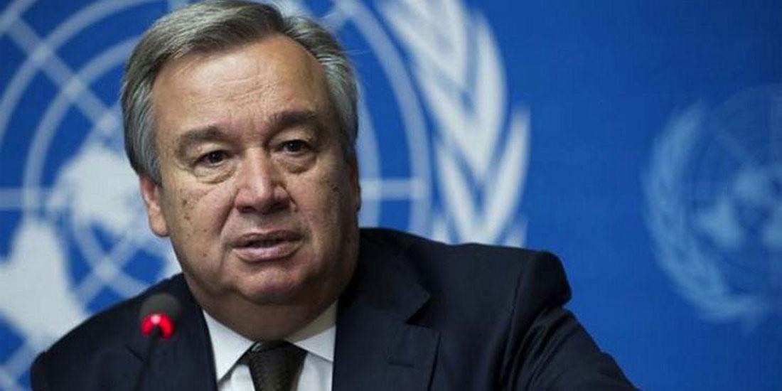 Ο ΓΓ του ΟΗΕ Αντόνιο Γκουτέρες εξεγείρεται εναντίον του «τσουνάμι του μίσους»
