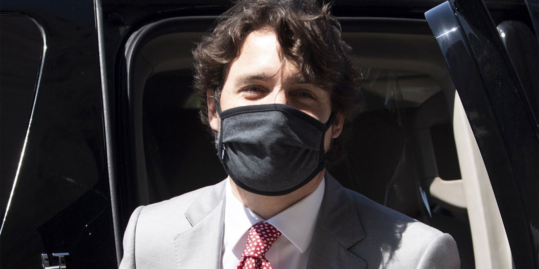 Καναδάς: Ο Τζάστιν Τριντό φοράει τη μάσκα, όταν είναι απαραίτητο