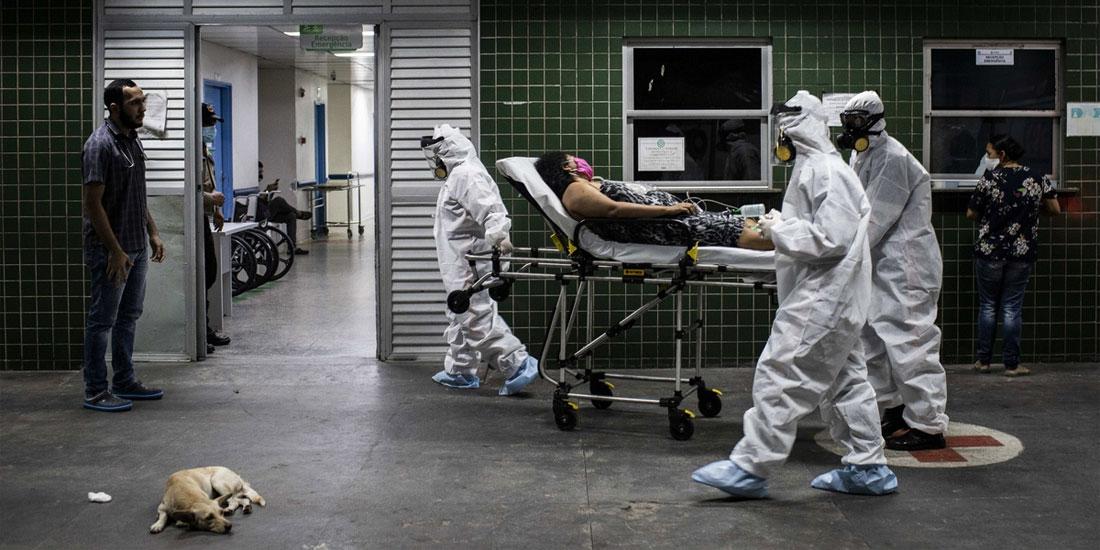 Βραζιλία: 623 θάνατοι, 11.598 κρούσματα μόλυνσης σε 24 ώρες