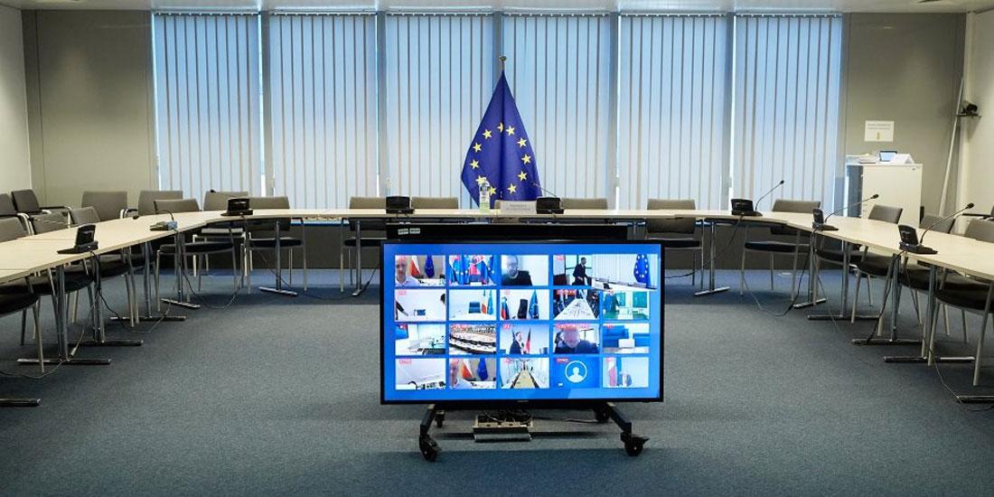 Τηλεδιάσκεψη της ελληνικής προεδρίας του Συμβουλίου της Ευρώπης για τα ανθρώπινα δικαιώματα σε καιρό πανδημίας