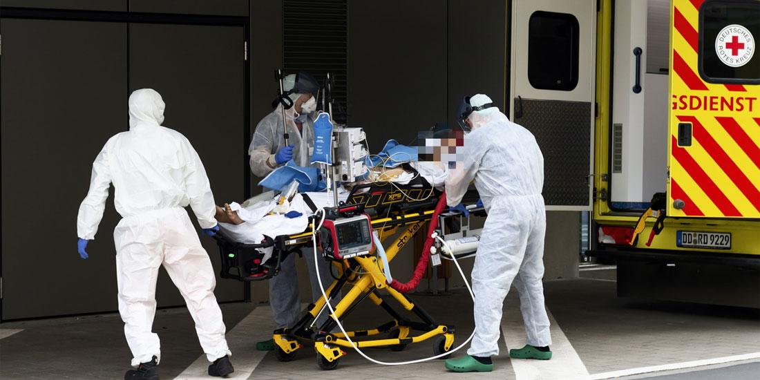 Γερμανία: 213 νέα κρούσματα μόλυνσης και 11 θάνατοι από κορωνοϊό