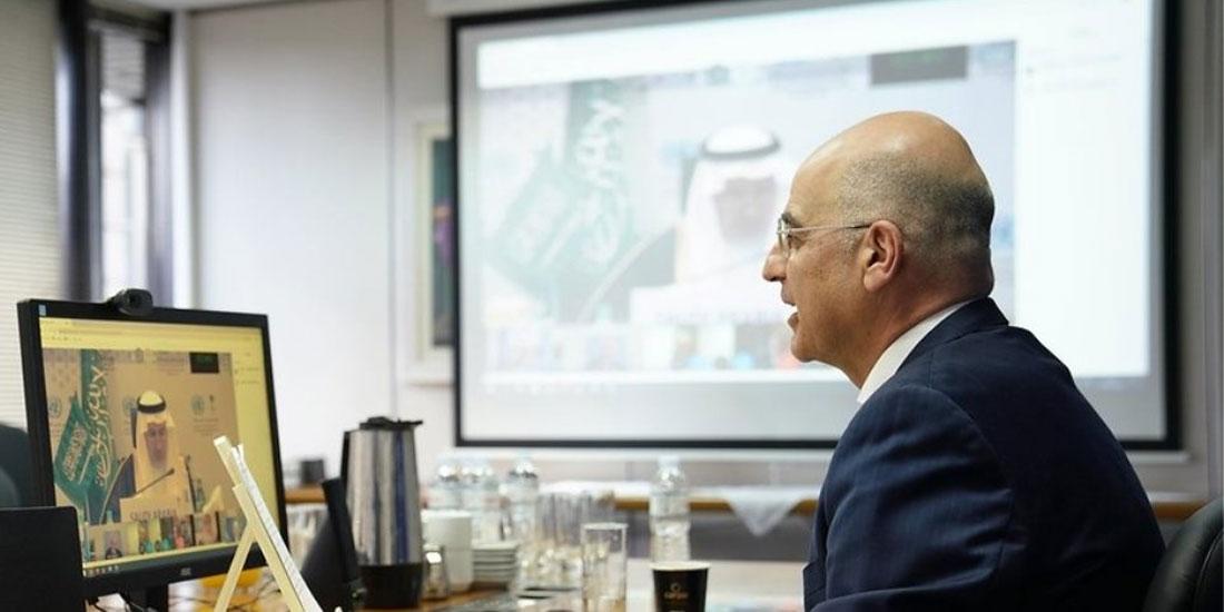 Τριμερής τηλεδιάσκεψη αύριο υπουργών Εξωτερικών Ελλάδας, Κύπρου και Ιορδανίας
