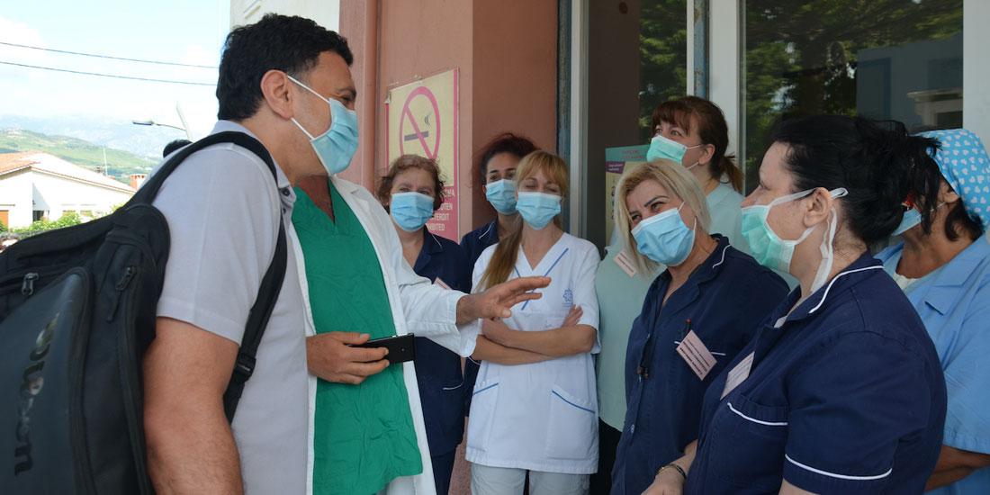 Επίσκεψη του υπ. Υγείας στη Σάμο