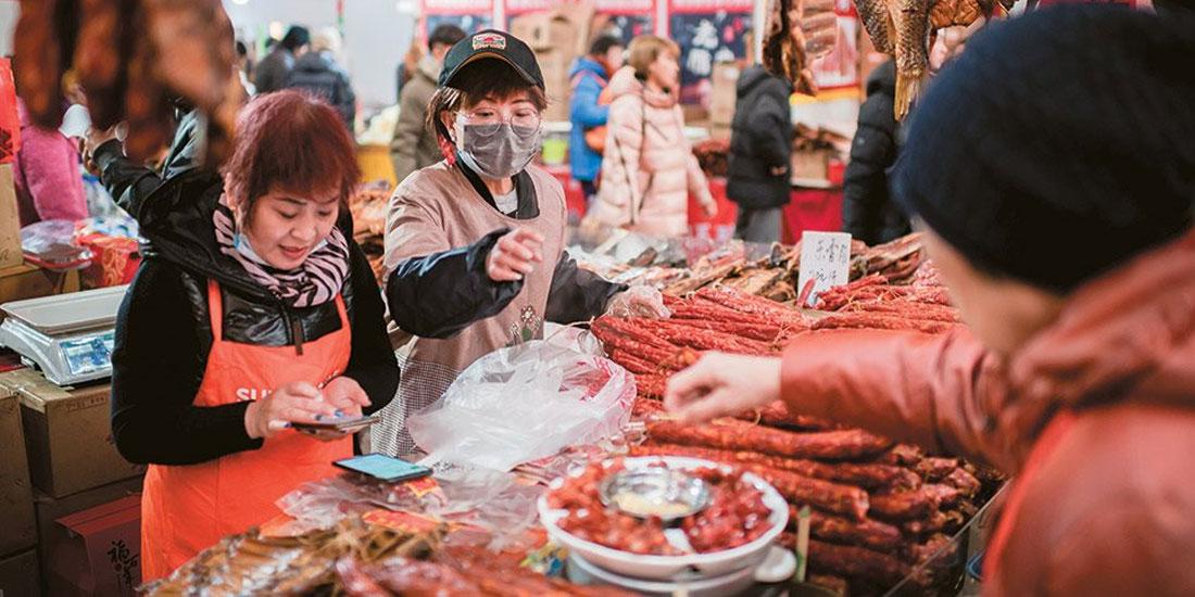 Κίνα: Προτεραιότητα η βελτίωση των συνθηκών υγιεινής στις υπαίθριες αγορές