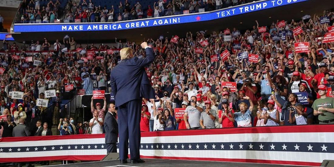 Με κορωνοϊό δύο ακόμη μέλη της προεκλογικής εκστρατείας του Τραμπ