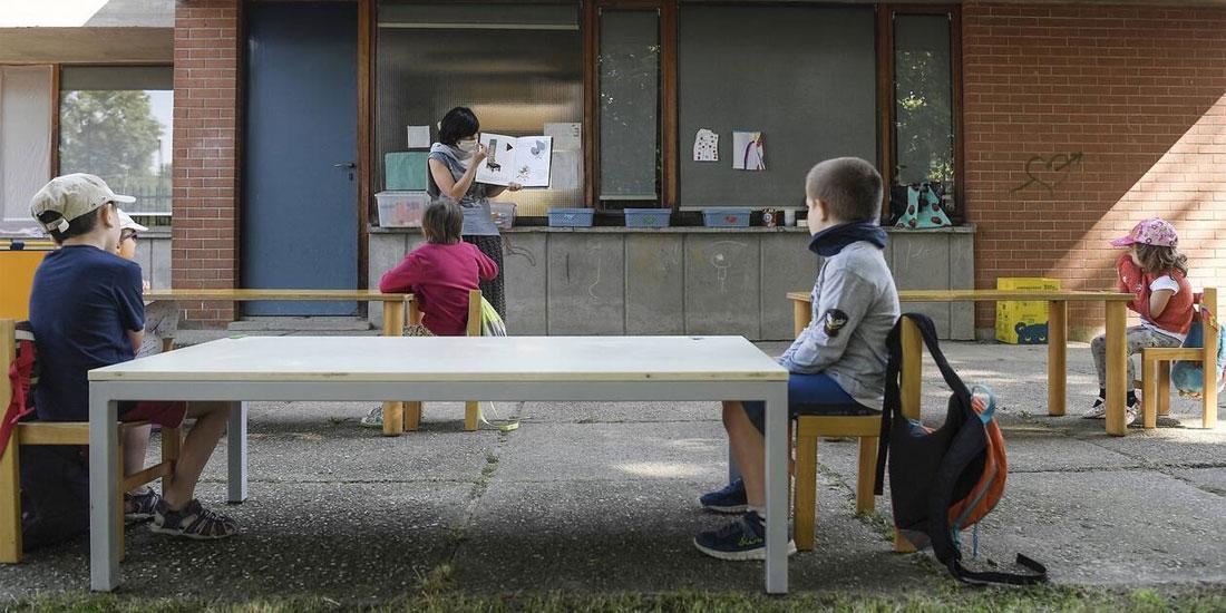 Ιταλία: «Ευρηματικές λύσεις» για την επόμενη σχολική χρονιά