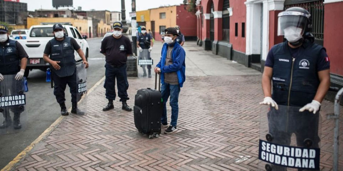 Περού: 15.000 αστυνομικοί προσβλήθηκαν από τον κορωνοϊό, 200 υπέκυψαν στην COVID-19
