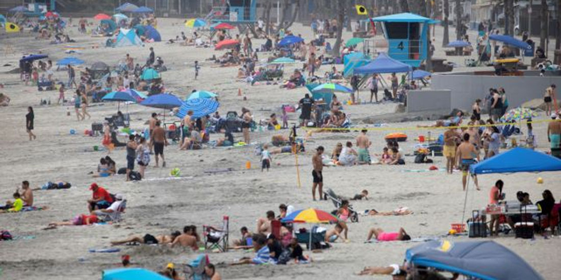 Lockdown στις παραλίες του Λος Άντζελες