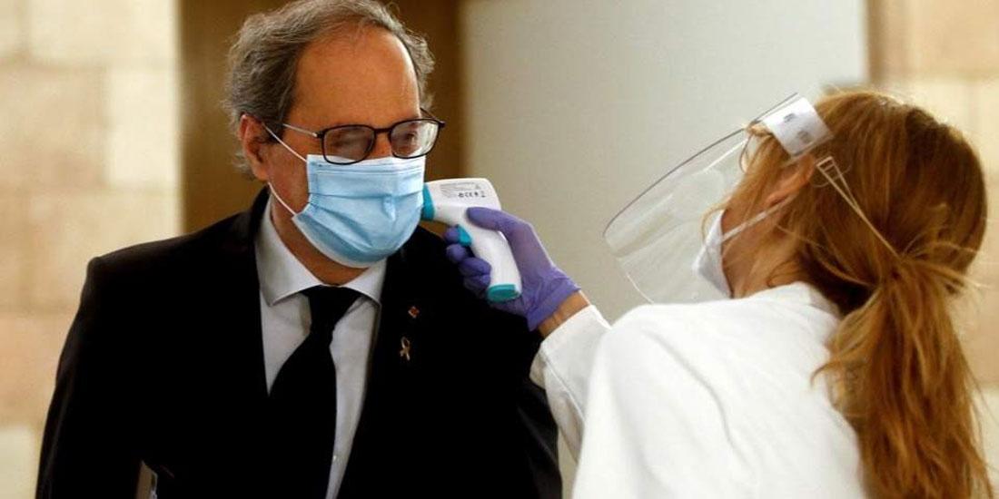 Η Καταλονία καθιστά υποχρεωτική τη χρήση της μάσκας παντού