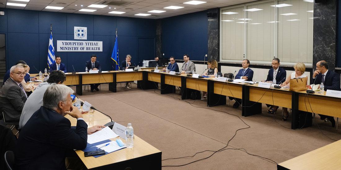 Σύσκεψη στο Υπουργείο Υγείας για την φαρμακευτική πολιτική: ανθρωποκεντρική με αναπτυξιακό πρόσημο