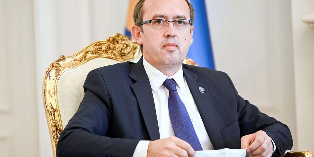 Με κορωνοϊό ο πρωθυπουργός του Κοσόβου Αβντούλα Χότι