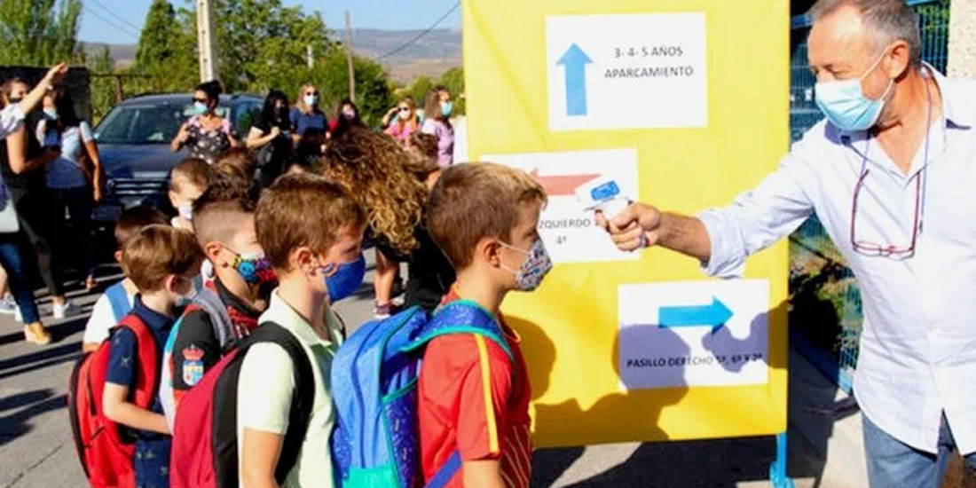 53 σχολεία κλειστά στην Ισπανία την πρώτη εβδομάδα επαναλειτουργίας τους