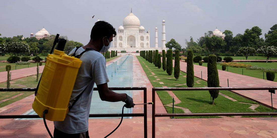 Ανοίγει σήμερα το Ταζ Μαχάλ, παρά την άνοδο των κρουσμάτων στη χώρα