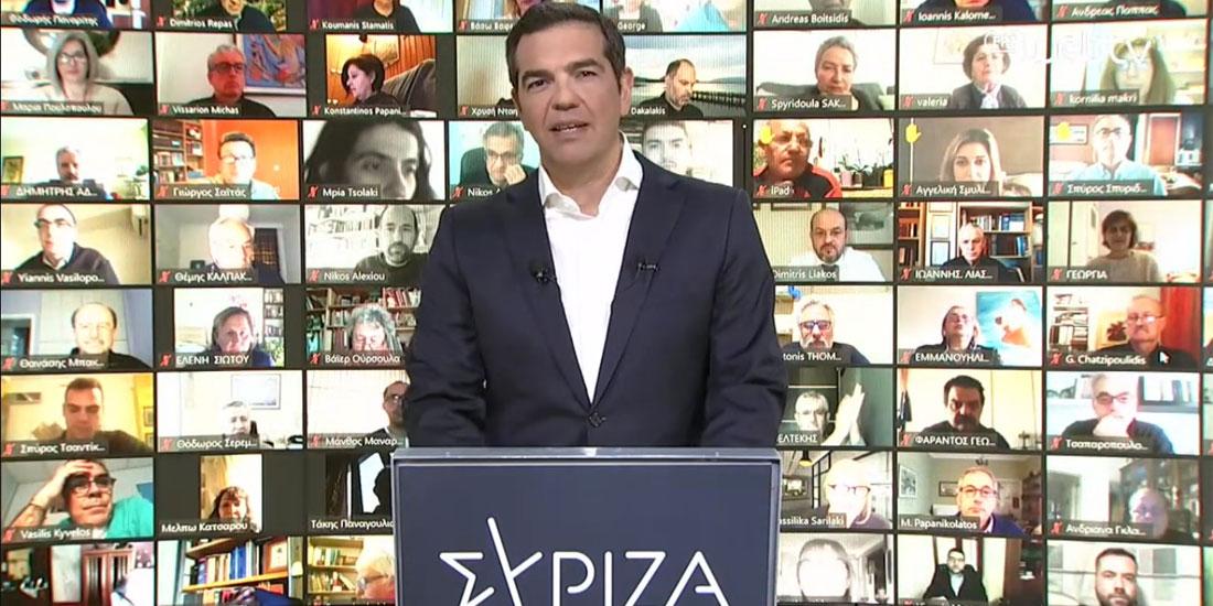 ΣΥΡΙΖΑ-ΠΣ: Διαδικτυακή παρουσίαση του φιλόδοξου νέου ΕΣΥ από τον Αλέξη Τσίπρα