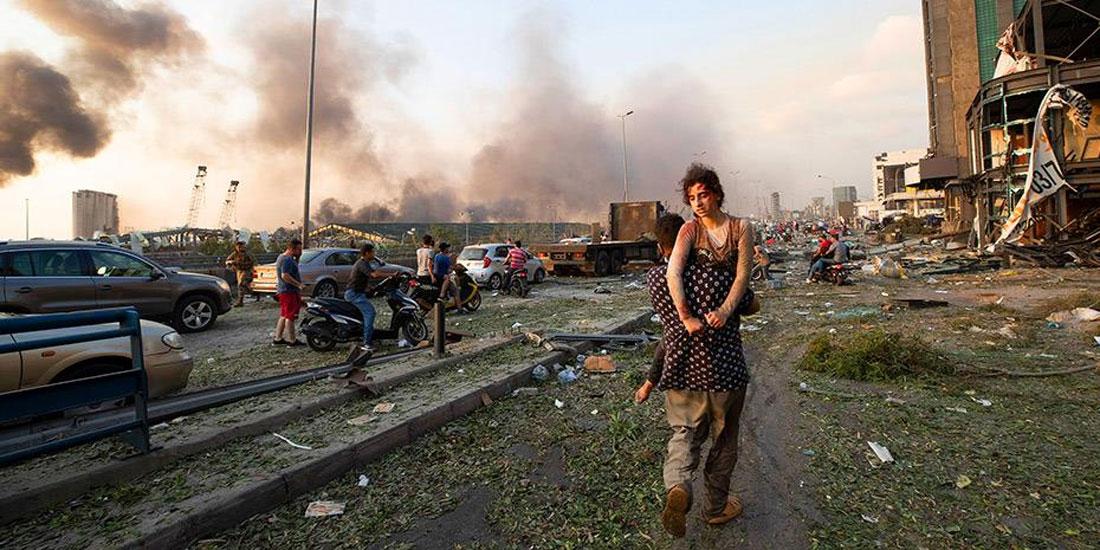 Άνθρωποι σε απόγνωση στον Λίβανο