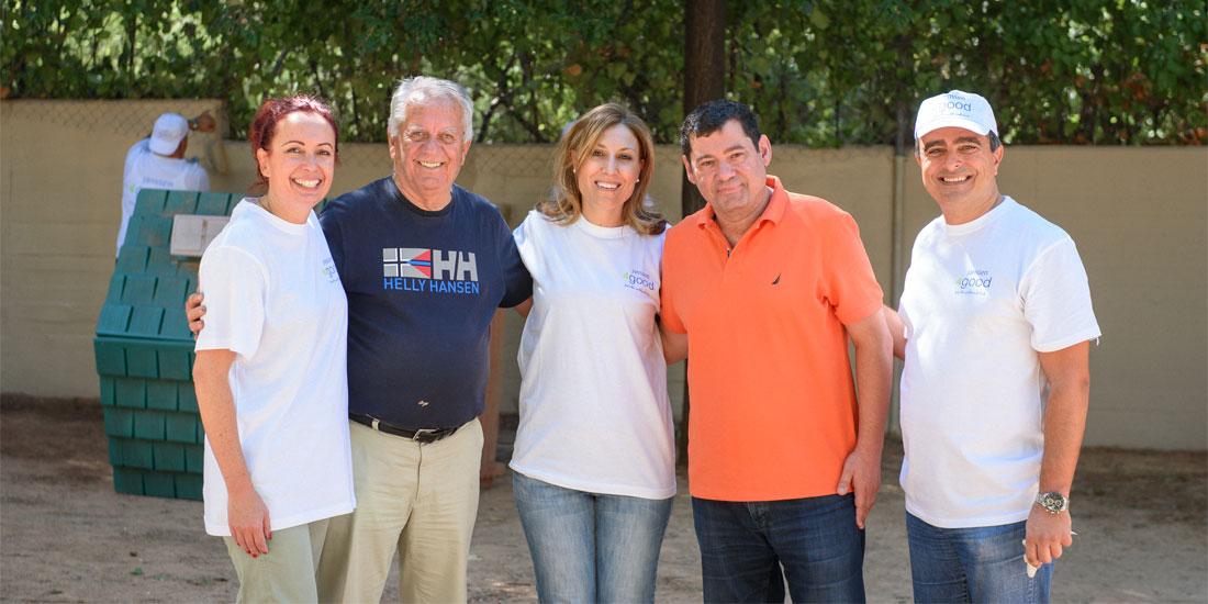 Ημέρα Εθελοντισμού Janssen Ελλάδος-Happy Kids