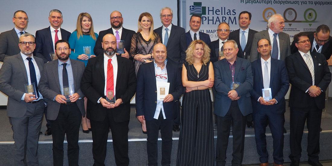 Οι νικητές των Αριστείων Φαρμακευτικής Αγοράς 2018