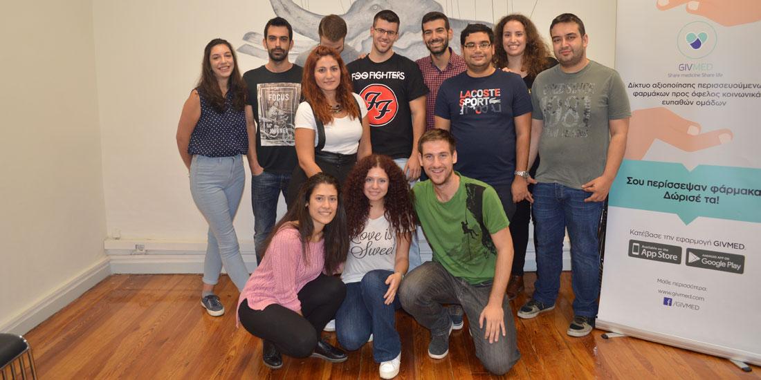 Ελληνική Πρωτοβουλία: Υποστηρίζει με χορηγία ύψους 15.000 δολαρίων το GIVEMED