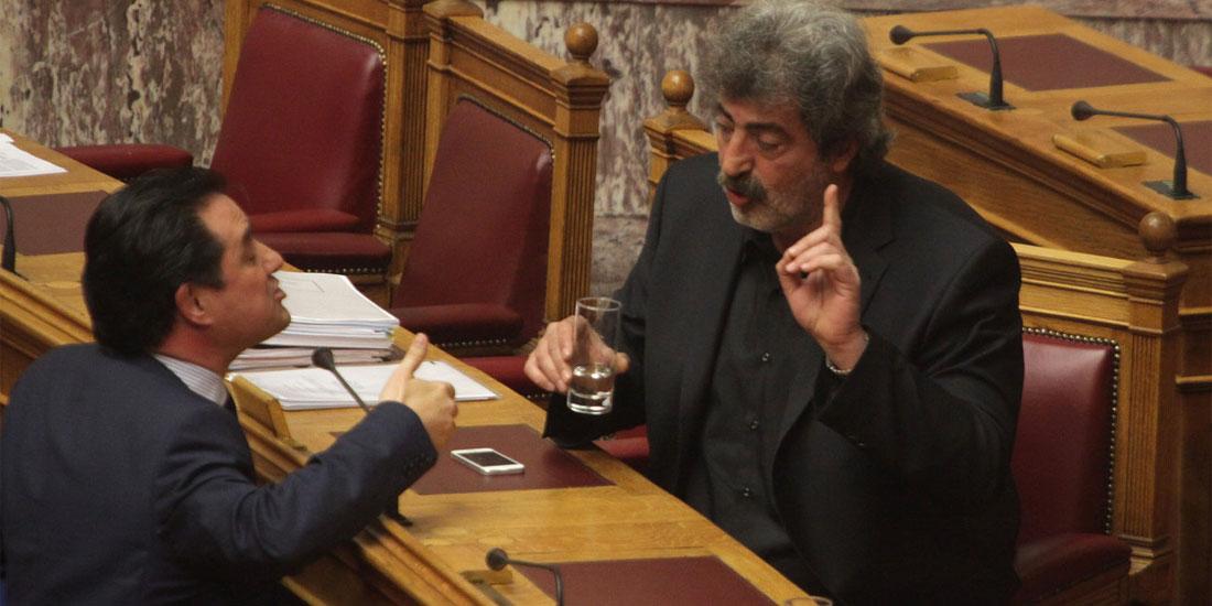 «Σκευωρία» λέει ο Άδωνις Γεωργιάδης, «Άρχοντας των δαχτυλιδιών» απαντά ο Παύλος Πολάκης