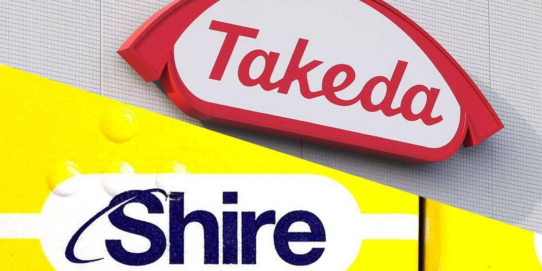 Οριστικοποιήθηκε η συμφωνία εξαγοράς της Shire από την Takeda 62 δισ. Δολαρίων